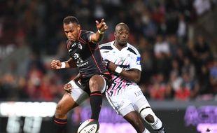 Timoci Matanavou, le 4 octobre contre le Stade Français - F. Lancelo