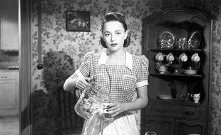 Olivia de Havilland dans «The Dark Mirror»