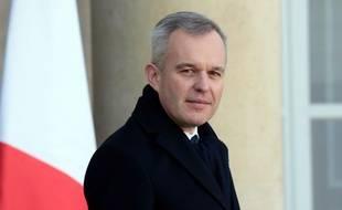 Francois de Rugy, le ministre de la Transition écologique, le 13 février 2019 à l'Elysée.