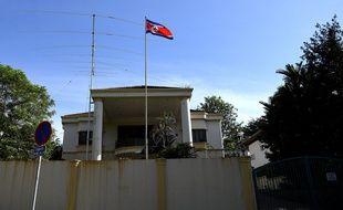 L'ambassade nord-coréenne à Kuala Lumpur, le 18 février 2017.