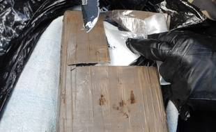 Interception de cocaïne aux Antilles le 21 mars 2015
