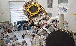 Le satellite partira pour Kourou, en Guyane, d'ici quelques jours