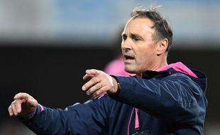 L'entraîneur du Stade Français Greg Cooper