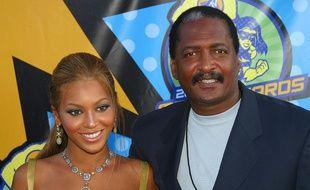 Mathew Knowles et sa fille Beyoncé