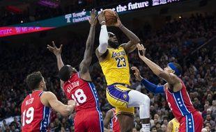 LeBron James est devenu le 3e meilleur marqueur de l'histoire de la NBA, devant Kobe Bryant, le 26 janvier 2020.