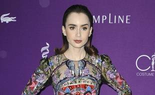 L'actrice Lily Collins