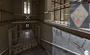 Une visite virtuelle de l'ex prison de Nantes est accessible sur Internet