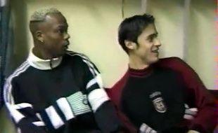 Sylvain Wiltord et Pierre-Yves André, époque 90's.