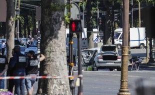 Une voiture a foncé sur un véhicule de gendarmerie ce lundi 19 juin