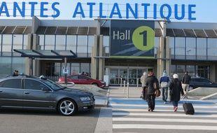 L'aéroport Nantes-Atlantique.