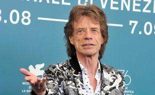 Le chanteur des Rolling Stones, Mick Jagger