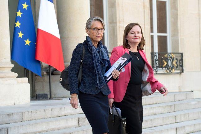 Elisabeth Borne et Nathalie Loiseau, deux ministres qui seront très médiatisées ces prochains mois.