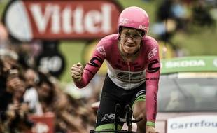Lawson Craddock, lanterne rouge du Tour de France 2018