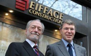 Jean-François Roverato (g) et Pierre Berger (d), le 11 février 2015, à Paris