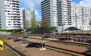 Le lieu éphémère Grand Train ouvre ce samedi au 26 ter de la rue Ordener dans le quartier Marcadet.
