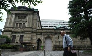Le siège de la Banque du Japon (BOJ), à Tokyo le 16 juin 2016