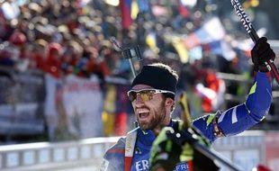 Jean-Guillaume Béatrix, l'autre valeur sûre du biathlon français.