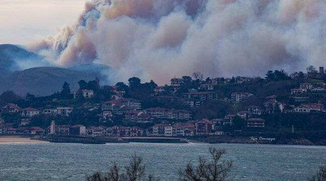 Pays basque : Près de 800 hectares de végétation détruits par le feu - 20 Minutes