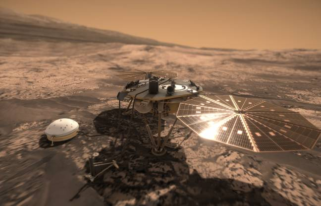 La sonde insight décolle pour six mois dans l'espace