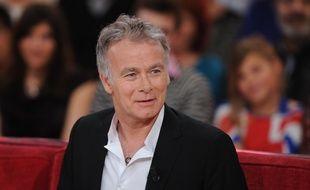 Franck Dubosc sur le plateau de «Vivement dimanche» sur France 2 en mars 2014.