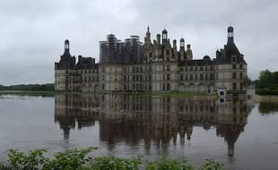 Le château de Chambord sous les eaux.