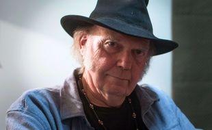 Neil Young, le 9 novembre 2014, à Vancouver.