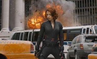 Scarlett Johansson, dans «Avengers».