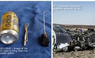 Dans son magazine de propagande Dabiq, Daesh affirme avoir fait exploser le vol A321 avec une bombe artisanale.
