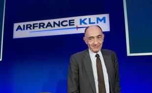 Le président d'Air France-KLM Jean-Marc Janaillac.