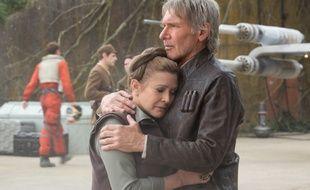 Carrie Fisher et Harrison Ford dans «Star Wars: Le Réveil de la Force»