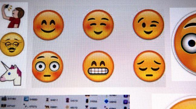 Les emojis viennent du Japon, où ils sont extrêmement populaires. – jbl/REX/REX/SIPA