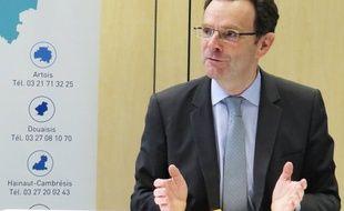 Frédéric Motte, président du Medef Hauts-de-France.