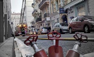Plus de 40 pompiers sont intervenus sur le sinistre