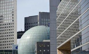 Le quartier des affaires de La Défense, près de Paris, le 24 avril 2015