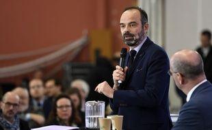 Le Premier ministre Edouard Philippe le 13 décembre à Nancy.
