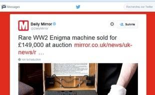 Enigma, la machine allemande racontée dans le film Imitation Game.
