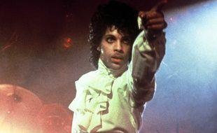 L'artiste Prince en 1984