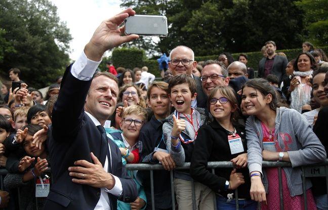 VIDEO. «Ça va Manu?»: Pourquoi l'Elysée avait le droit de diffuser la vidéo de l'ado recadré par Emmanuel Macron