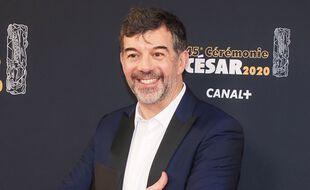 Stephane Plaza à la cérémonie des César à Paris en 2020