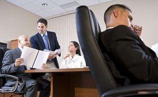 Illustration d'une réunion.