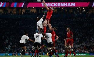 Les Anglais ont dominé les Fidji à Twickenham le 18 septembre 2015.