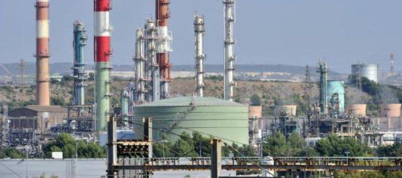 La raffinerie LyondellBasell à l'étang de Berre le 16 avril 2014