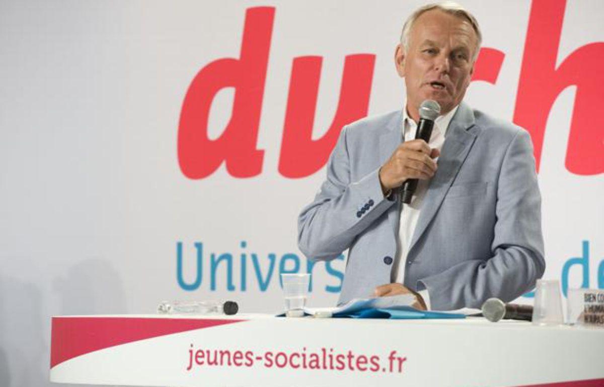 Le Premier ministre Jean-Marc Ayrault le 25 août 2012 à l'université d'été du Parti socialiste à La Rochelle. – NOSSANT/DUPUY/SIPA
