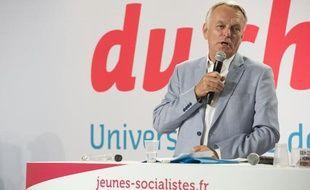 Le Premier ministre Jean-Marc Ayrault le 25 août 2012 à l'université d'été du Parti socialiste à La Rochelle.