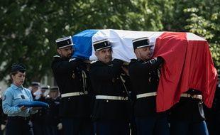La cérémonie en mémoire de Mélanie Lemée, la gendarme de 25 ans tuée par un chauffard, s'est déroulée à Mérignac