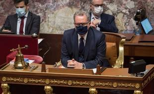 Le président de l'Assemblée nationale Richard Ferrand a rappelé que l'interdiction du port de tout signe religieux ostensible dans l'hémicycle ne valait que pour les seuls députés.