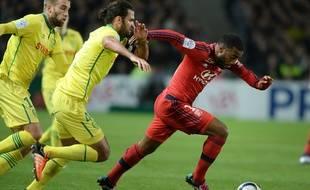 Alexandre Lacazette était en plein doute lorsque l'OL est allé arracher un nul à Nantes le 1er décembre.