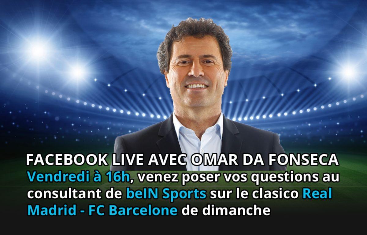 Omar Da Fonseca sera en Facebook Live vendredi à 16h – 20 Minutes