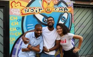 De gauche à droite : Kévi, François et Mélanie, animent tous les trois le podcast Le Tchip, qui parle de culture afrodescendante.
