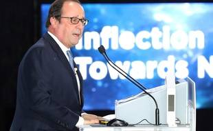 François Hollande à Séoul, le 17 octobre 2017.
